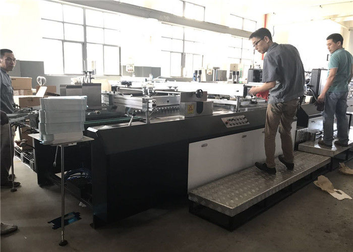 Fully Automatic Window Patching Machine Screen Print Gluing For Paper / Carton Box